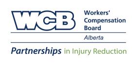 Logo for WCB Alberta