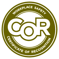 Logo for Workplace Safety Certificate of Recognition
