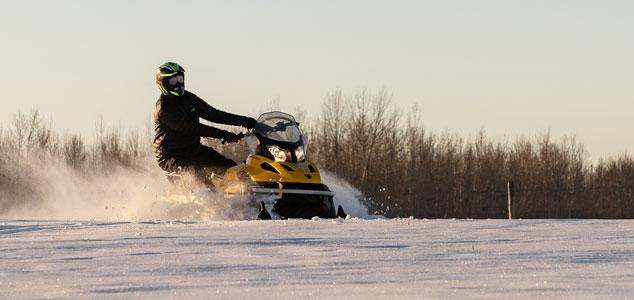 Snowmobiles image 1