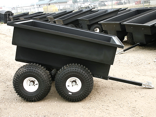 Tub Trailer (5' tandem axle straight back) product image