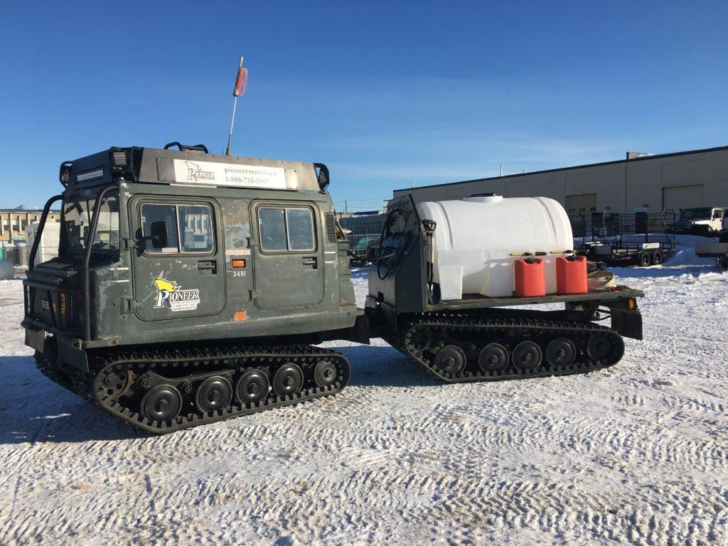 Hagglund Fire unit
